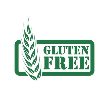 Gluten free icon Vector Illustratie
