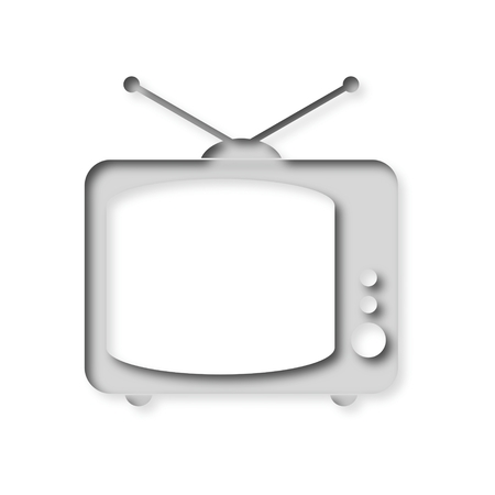 Retro TV Icon