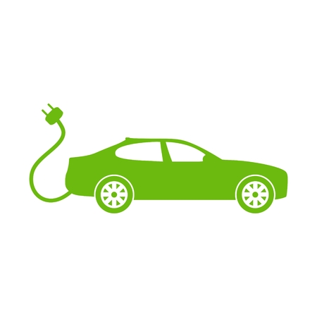 Elektroauto Stock Illustratie