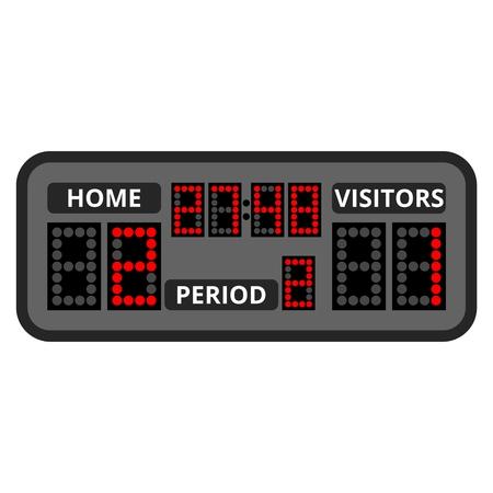 Scoreboard Vektorgrafik