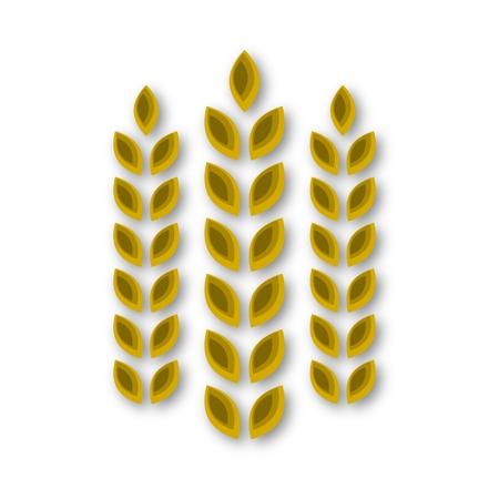 Wheat icon  イラスト・ベクター素材