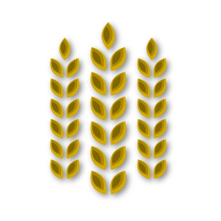 Wheat icon 일러스트
