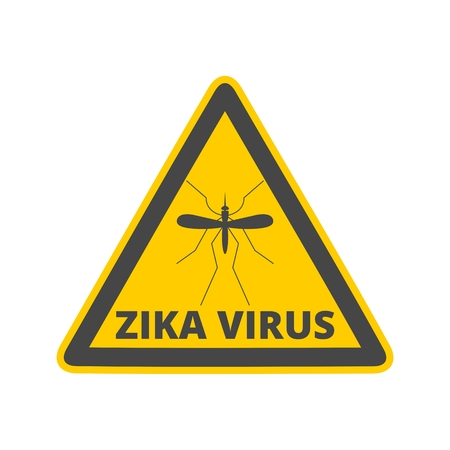 Zika virus alert Illustration