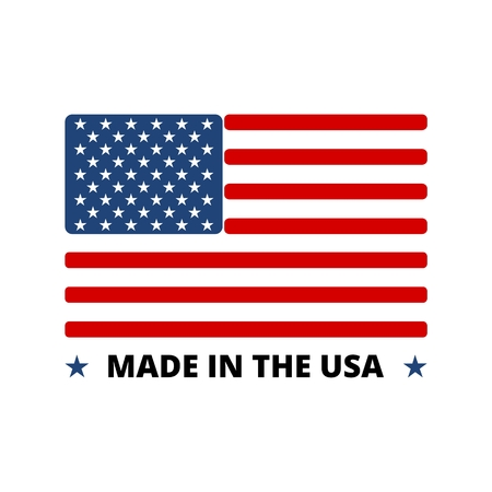 USA flag - Made in America Çizim