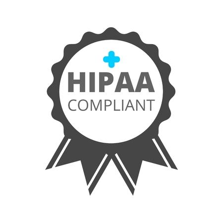 HIPAA Compliance Icon Illustration