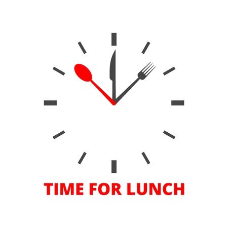 Zeit für das Mittagessen Symbol