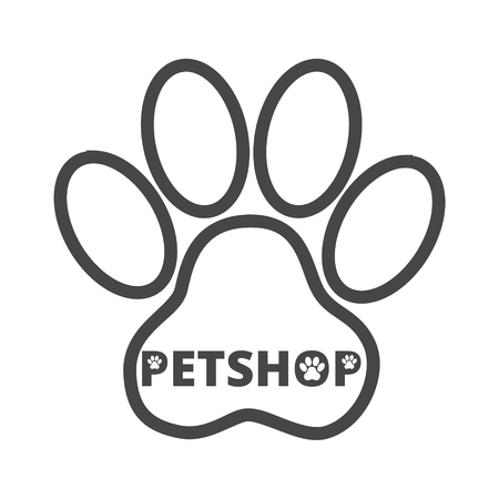 Pet shop icon Illustration