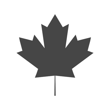 Vector Maple Leaf Icon 向量圖像