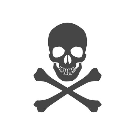 Skull icon Vetores