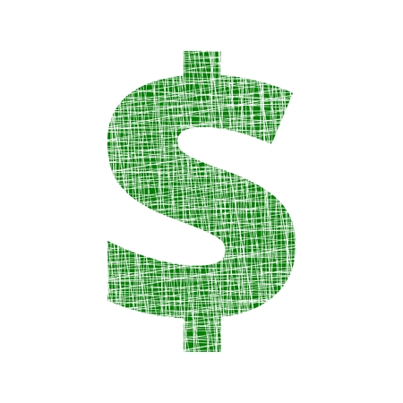 Dollars sign icon. USD currency symbol