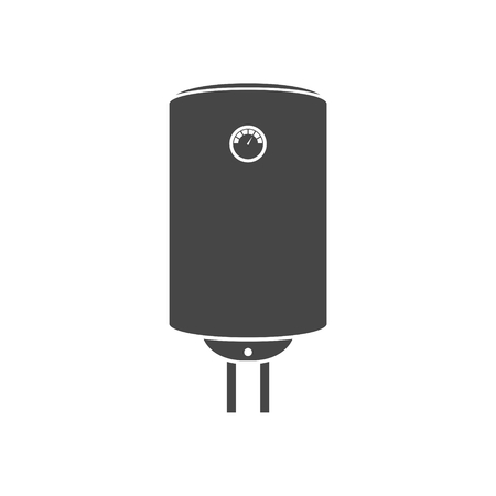 Electric boiler icon - vector Illustration