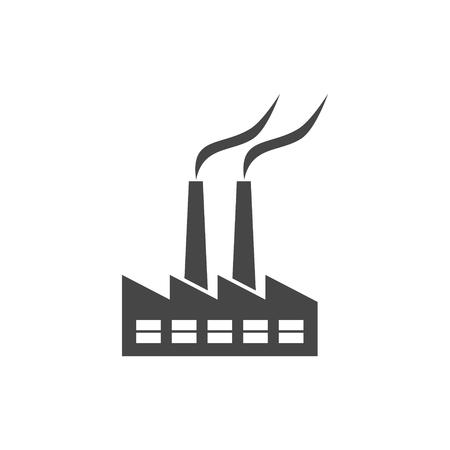 Factory icon Stock Vector - 110368571