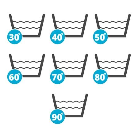 Laundry symbols, Wash icon, Machine washable symbol