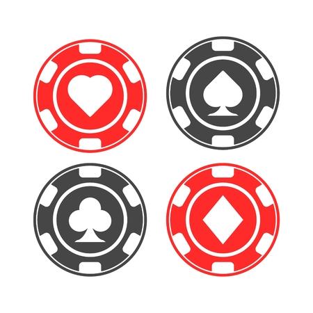 Casino chip icon