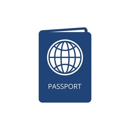 Passport icon - Illustration