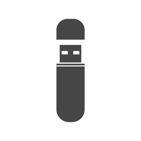 Usb flash memory icon