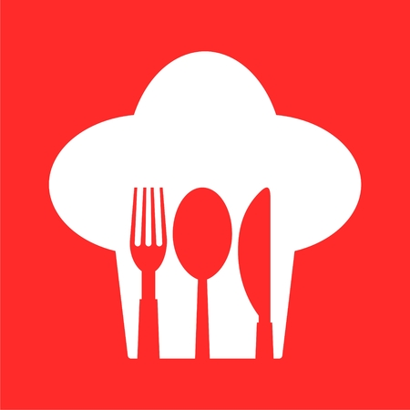 Restaurant Sign, Spoon, Fork and Knife icon