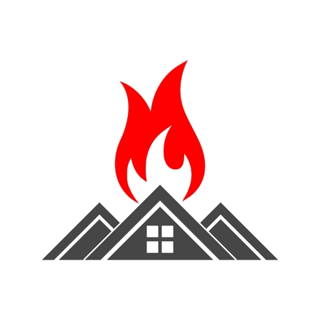 Fire warning icon