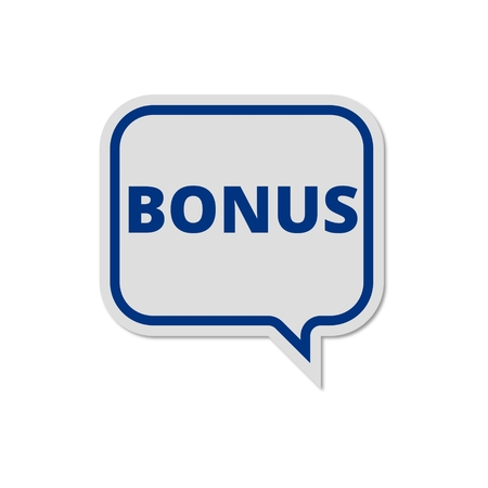 Bonus sign, Bonus icon