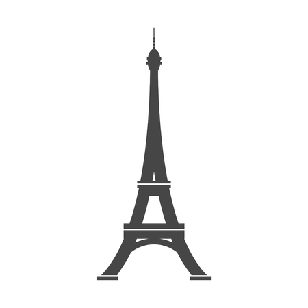 Paris Eiffel Tower Icon 向量圖像