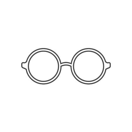 Vector sunglasses, Glasses Icon Illustration sign Foto de archivo - 110906701