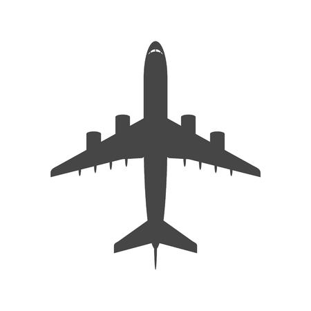 Icône d'avion, symbole d'avion