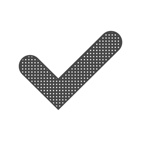 Checkmark Icon, Check mark icon - vector