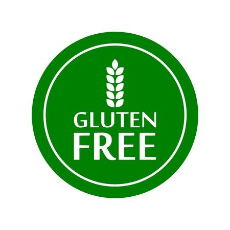 Icono de signo libre de gluten