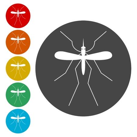 Mosquito icon Stock Vector - 111850263