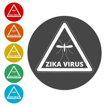 Zika virus alert Stock Vector - 111850265