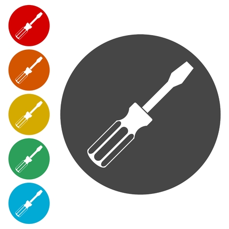 Screwdriver vector icon
