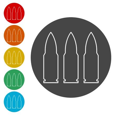 Icono de bala