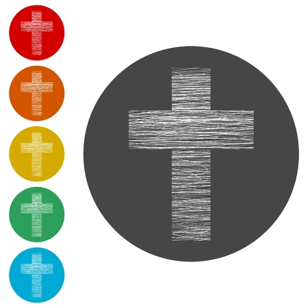 Cross icon 向量圖像