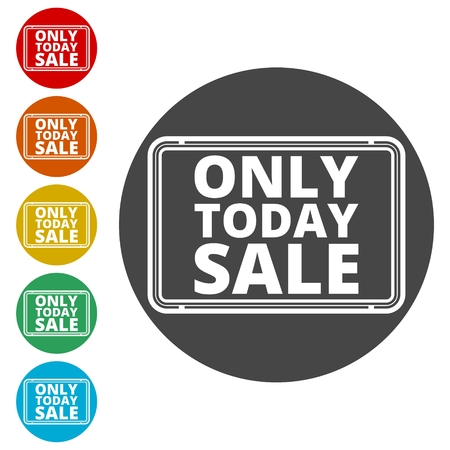 Only Today Sale sign