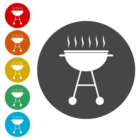 BBQ, Grill Or Barbecue icon