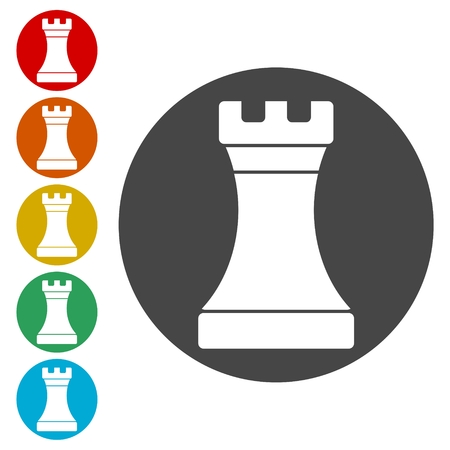 Simple icon Chess Rook