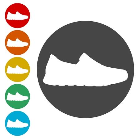 Sport shoe icon  イラスト・ベクター素材