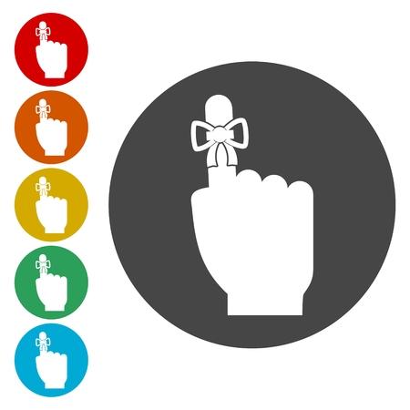 Reminder icon - Vector Illustration