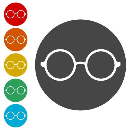 Vector sunglasses, Glasses Icon Illustration sign