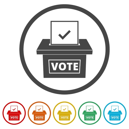 Voting concept, Vote concept icon