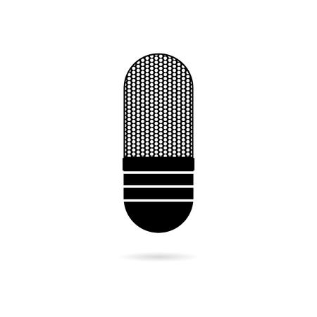 Black Microphone icon