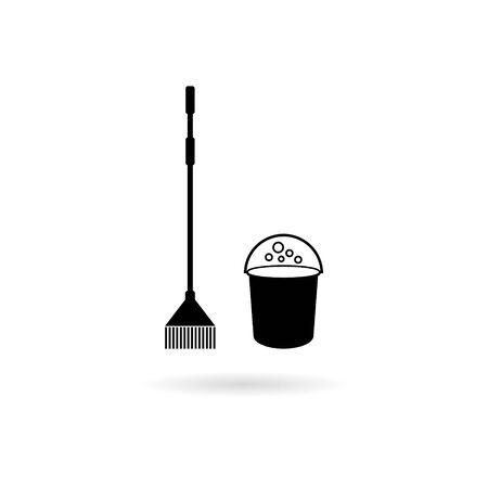 Icône de nettoyage Vecteurs