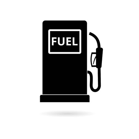 Gas pump icon, Gasoline and diesel fuel symbol