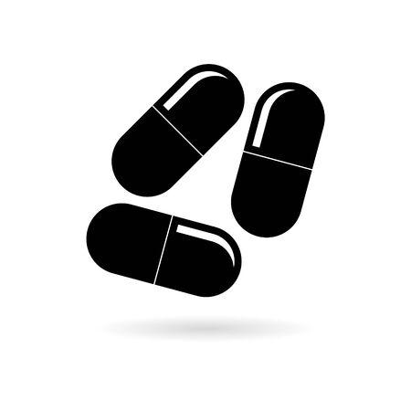 Pills icon, Medicine Pills