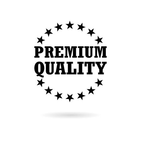 Premium quality icon, Premium quality label
