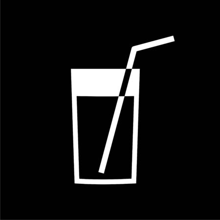 Fresh Lemonade icon on dark background