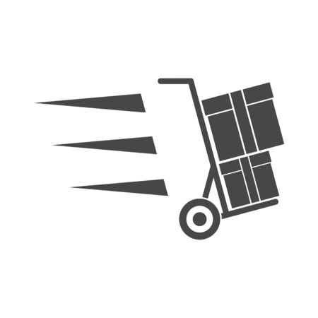 Delivery Service, Handcart icon