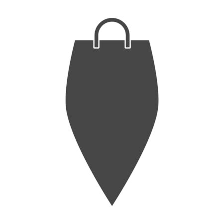 Shopping bag, Handbag icon
