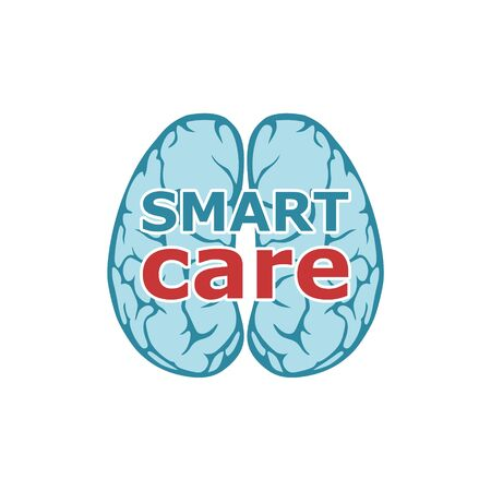 Smart care logo, Anatomical design