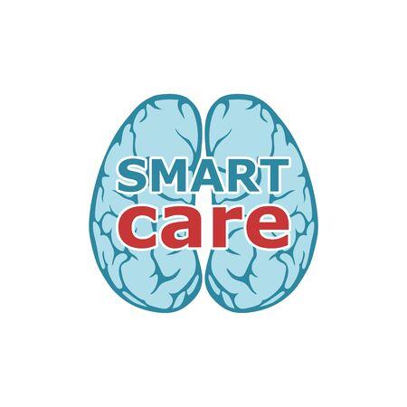 Smart care logo, Anatomical design